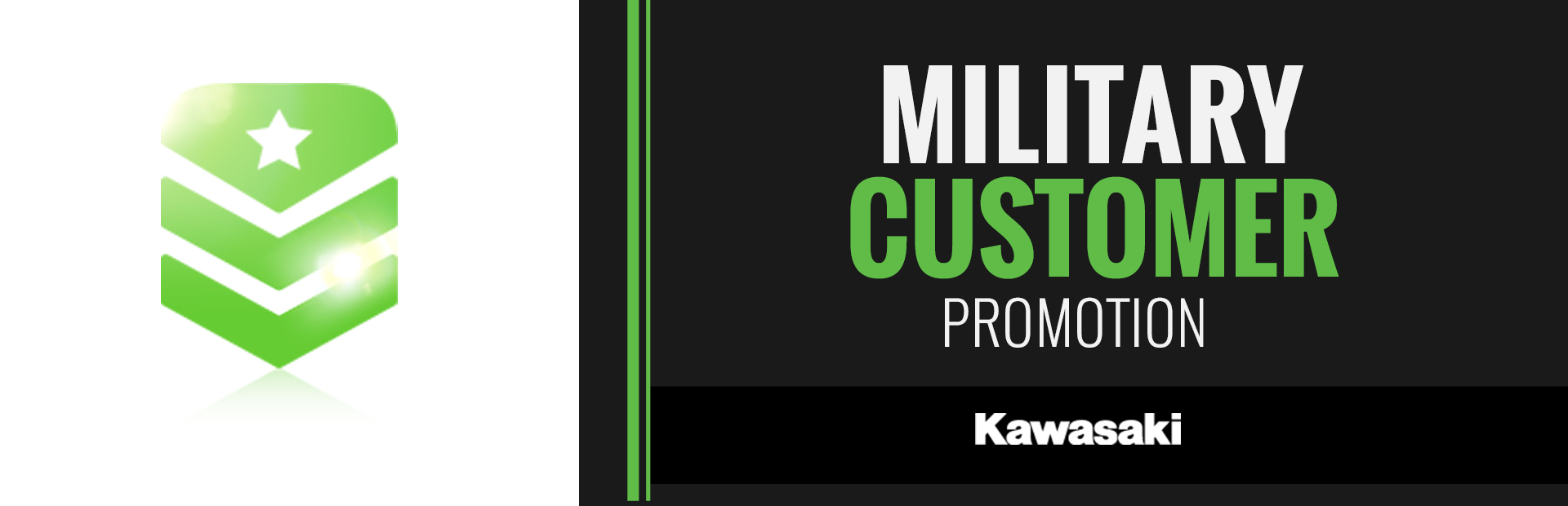 Kawasaki: Military Customer Promotion